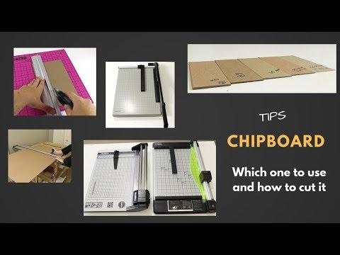 Chipboard for cartonnage, scrapbooking, bookbinding projects: which one to use and how to cut it
