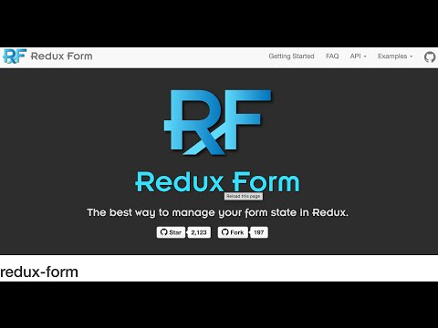 Dynamic Forms with Redux Form