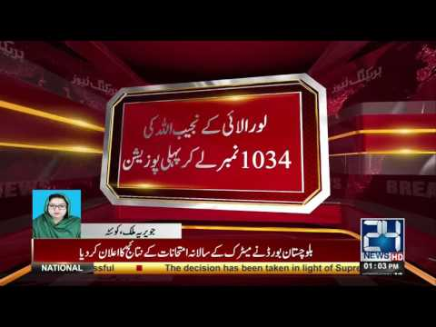 Balochistan board announcement the matric result