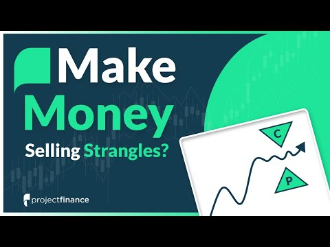 How to Make Money Selling Strangles | Options Trading Study
