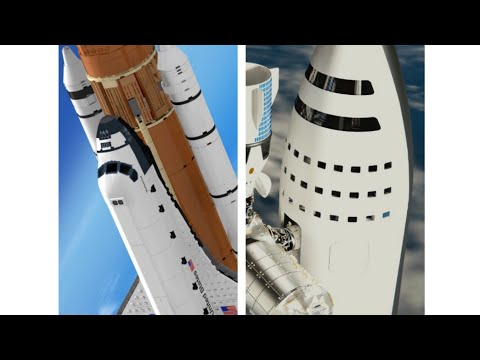 Space Shuttle or BFR ?