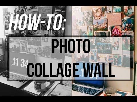 TUMBLR PHOTO COLLAGE WALL ART