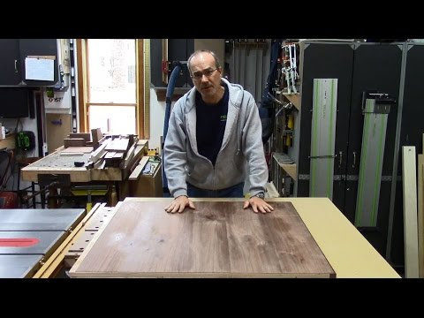 Butterfly Leaf Dining Table 7 - Vacuum Press Veneering and Shop Sawn Veneer