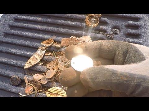 Metal Detecting:  People Like to Bury Stuff