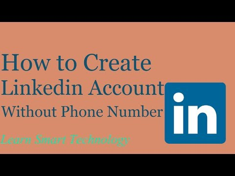 How to Create New Linkedin Account Without Phone Number And Email