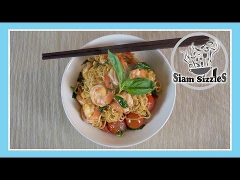 Shrimp And Instant Noodle Stir Fry Recipe