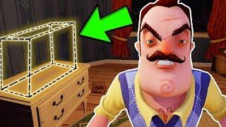 hello neighbor | SECRET EXIT | uncut gameplay #2