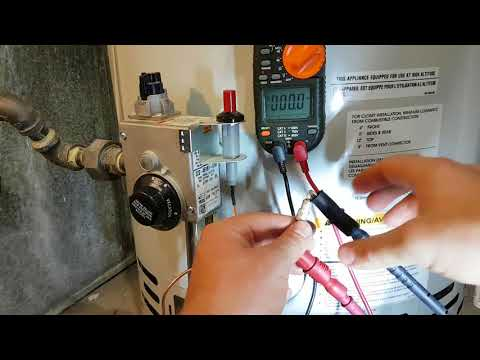 Testing a Thermocouple's Voltage on a Water Heater