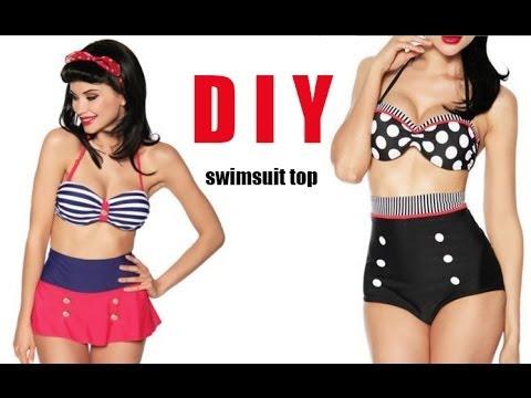 DIY Swimsuit top (easy)