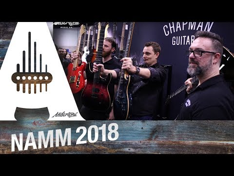 Chapman Guitars - British Standard Series Launch! - NAMM 2018