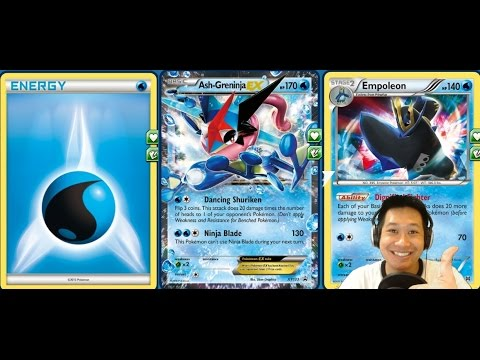 Promo Ash Greninja Ex Deck, How to Quickly Set Up And Hurt Using Archie's Ace