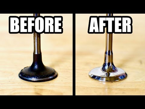 How to Clean and Refinish Valves