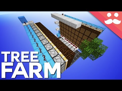 Minecraft: High Efficiency Multi Tree Farm