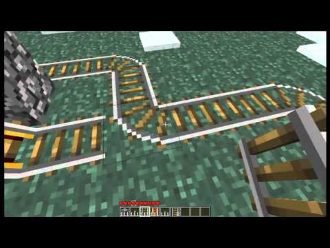 Minecraft Tutorials: Minecart Subway Station Part 2: How Stations Connect