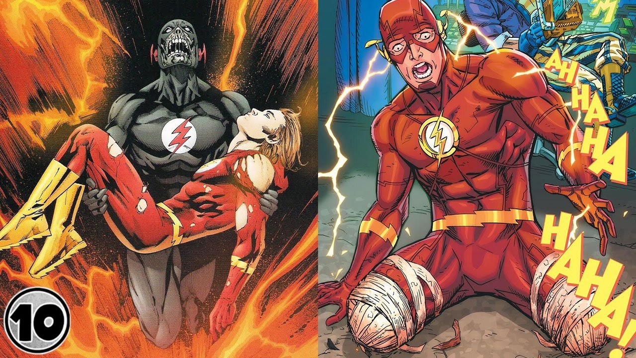 Top 10 Worst Things That Happened To The Flash