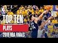 Top 10 Plays 2019 NBA Finals