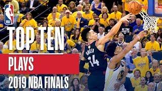 Top 10 Plays! | 2019 NBA Finals