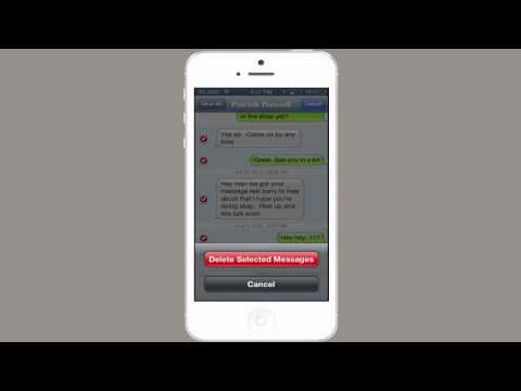 How to Get Rid of Sent Text Messages on the iPhone : Tech Yeah!