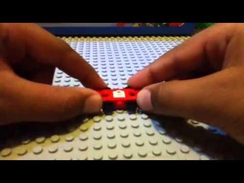 how to build a  mini Lego car