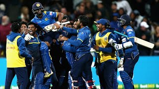 Relive an unbelievable final two overs