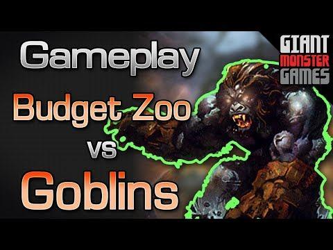 Budget Zoo -vs- Budget Goblins - MTGO Gameplay #1