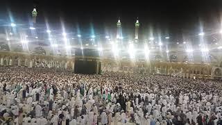 People Doing Tawaf on 27th Night of Ramadan after Emotional Dua of Sheikh Sudais