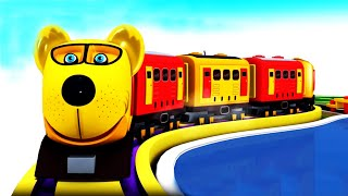 Animal Train: Toy Factory Dog Train Cartoon Cartoon Videos for Kids - Kids Videos for Kids