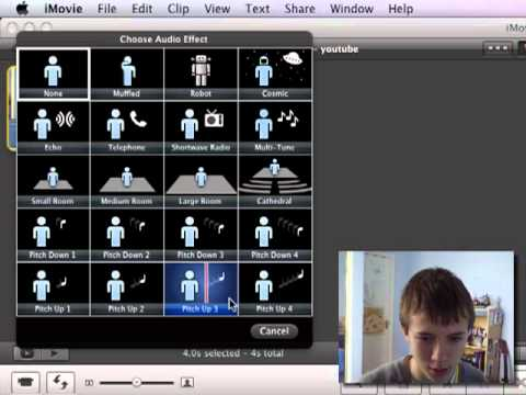 imovie 11: Audio Effects