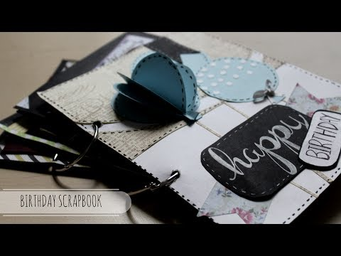 DIY: Cutest Birthday Scrapbook | Card Idea | Easy Card Idea | Handmade Card ( Tutorial available)