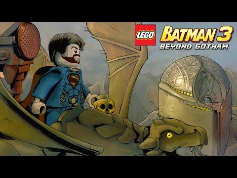 Man of Steel - Lego Batman 3: Beyond Gotham - Walkthrough - Part 1