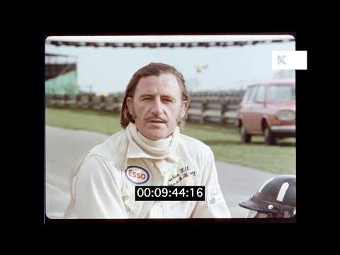 1972 Graham Hill on Formula Two Racing, HD | Kinolibrary