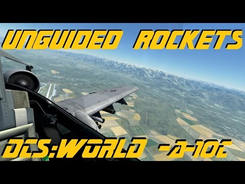 DCS:World » Unguided Rocket Employment » A-10C