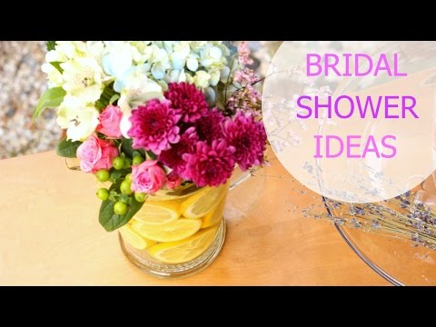 HOW TO HOST A BRIDAL SHOWER - FAVORS, FOOD + DRINKS, DECOR, + MORE! || KATIE BOOKSER