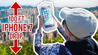 CAN BUBBLE WRAP PROTECT AN IPHONE 7 FROM 100 FOOT DROP TEST!?!