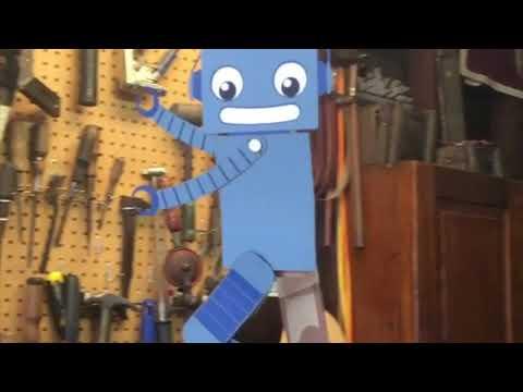 Robot gondola ADABOT with CRICKIT @adafruit #adafruit #crickit