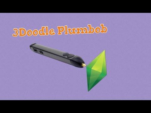 DIY Plum Bob from The Sims using 3Doodler