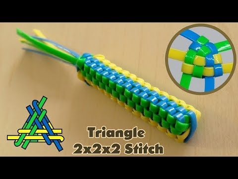 How to Make The 2x2x2 Triangle Lanyard