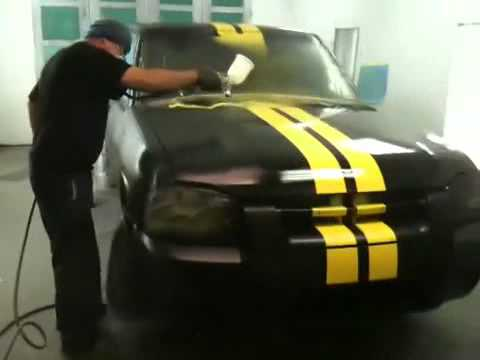 Nissan Frontier custo painting clear coat