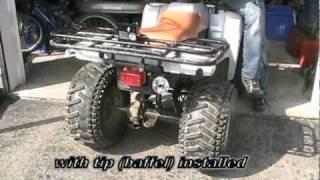 Chinese ATV 4-Wheeler 50CC Muffler Repair and/or Silencer
