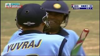 ** Rare ** India vs Australia ICC Knockout 2000 HQ Highlights ** Thank you Yuvraj ** Singh is King