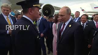 Vietnam: Putin bids farewell after APEC 2017 summit