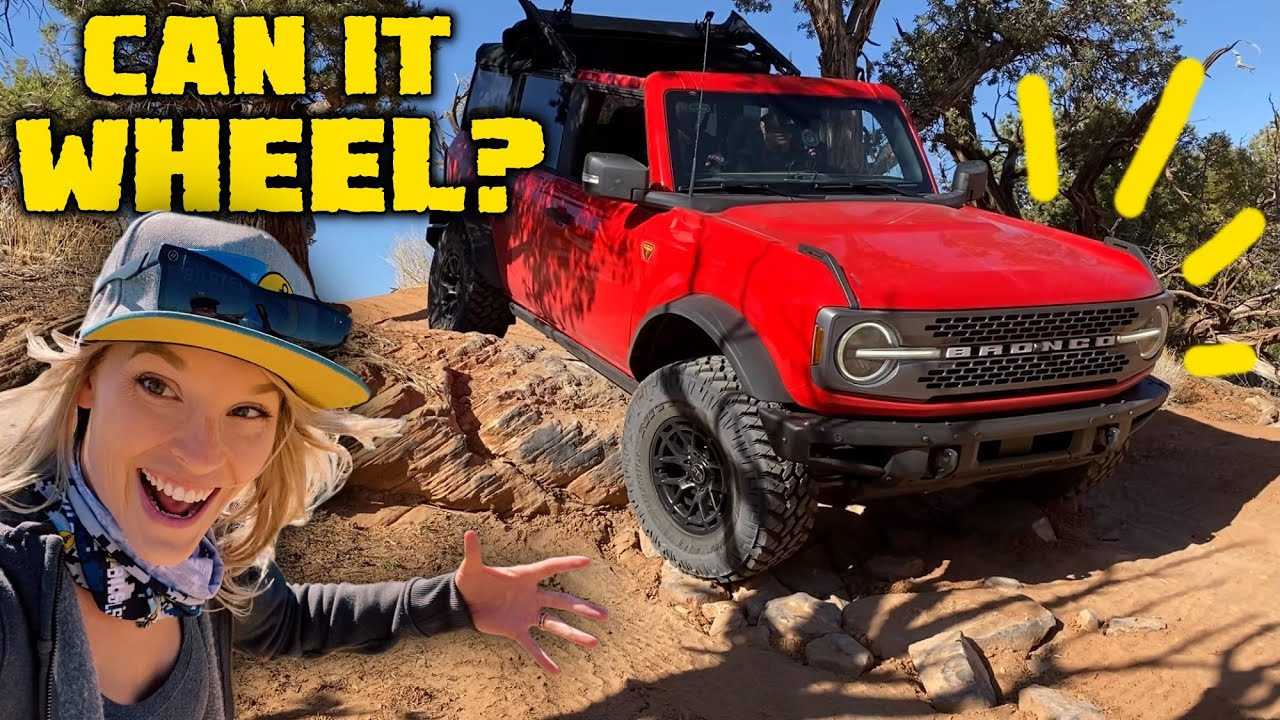 NEW FORD BRONCO REAL OFF ROAD TEST - Is It Better Than a Jeep Wrangler?