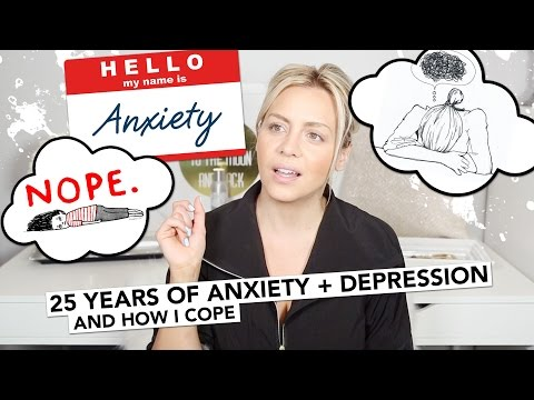 25 Years of Anxiety & Depression And How I Cope