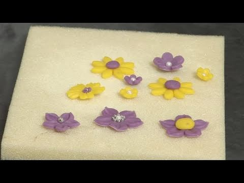 How To Create Marzipan Flowers
