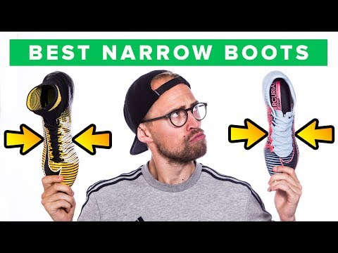 TOP 5 FOOTBALL BOOTS FOR NARROW FEET