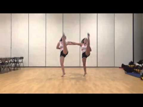 High Kicks with Jump Split