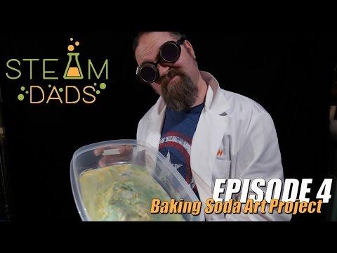 STEAMDads - Episode 4 - Baking Soda Art Project