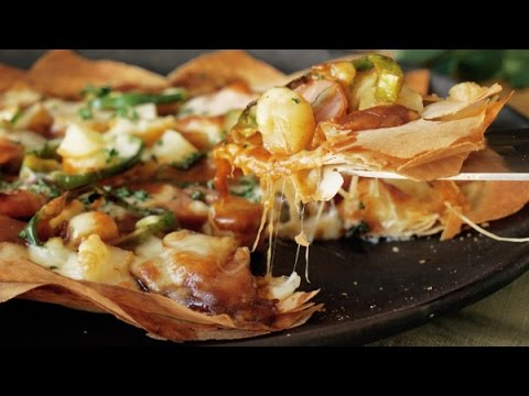 How to make spring roll wrapper curry pizza , deep fry pizza rolls, wrap roll recipes, home cooking