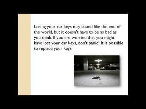 Lost Car Keys Brisbane