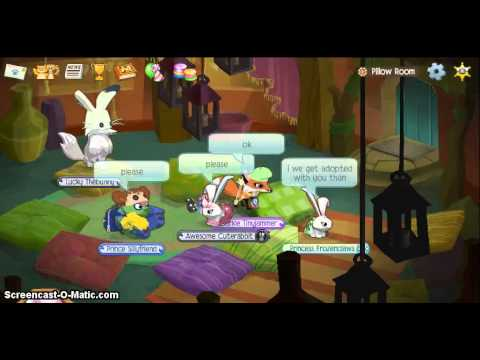 HOW TO GET ADOPTED ON ANIMAL JAM